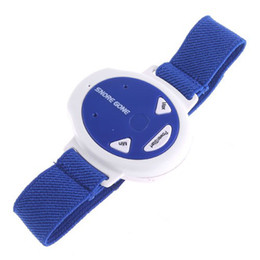 Wholesale Snore Gone Stop Snoring Anti Snoring Wristband Watch Sleeping Aids Y3011L