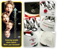 Wholesale Xmas Lie derector Polygraph test Shock Lie Truth Game Electric Shocking Liar derector Toys Hobbies