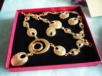 2 Colors Fashion Jewelry Sets A118 Inlaid Zircon Luxury Allo...