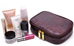Wholesale Korea s multi functional artificial leather Cosmetic Bag Jewelry package