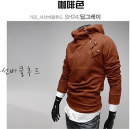 Wholesale High collar Hoodie Hoodies top brand men s clothes men s dust garment men outwear A1086