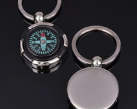 Wholesale Creative gift the German the Philippi personality compass keychain key chain can play laser LOGO