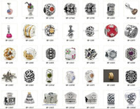 Wholesale Only love Silver beads charm for pandora Both men and women can wear