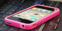 2012 new Silicone TPU Frame Bumper case Metal Button Cover f...