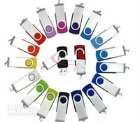 Wholesale Promotion pendrive GB popular USB Flash Drive rotational style memory stick via DHL Fedex