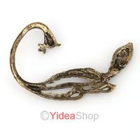 Wholesale 18pcs Earrings Bronze Vintage Gothic Punk Wrap Phoenix Peacock Ear Cuff Clip Earring