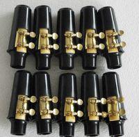 Wholesale New set Alto sax mouthpiece and ligature and cap