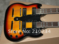 other other other Wholesale - best customization store double neck bees color custom electric guitar