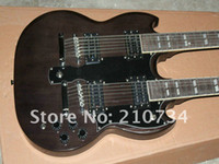 other other other Wholesale - best Custom Shop -1275 Double Neck, Heritage gray Cherry Electric Guitar