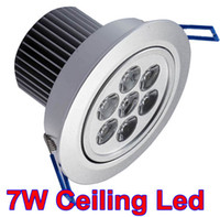 Wholesale 7W W LED ceiling light High Power Cool white Led Ceiling light LED downlight W VAC