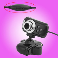 Wholesale 18M Pixels USB Video Class Built in Microphone Clip On Design HD Digital PC Camera USB Web Camera