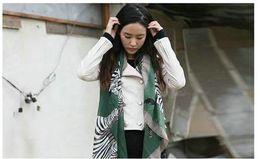 Quality fashion new zebra pattern 4color cotton lady scarf lovey shawl woman 10pcs lot Mixed Free Sh
