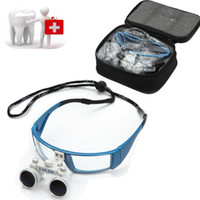 Wholesale New design Fashion Dental Surgical Medical Binocular Loupes X mm Optical Glass Loupe