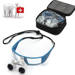 Wholesale New design Fashion Dental Surgical Medical Binocular Loupes X mm Optical Glass Loupe