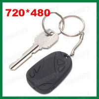 Wholesale Hot Spy Camera Key Chain Camcorder Video Cam FPS Spy Car Keychain Camera
