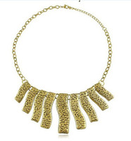 Women's vintage sheet - Vintage Jewelry Hip Hop Necklaces Water corrugated metal sheet