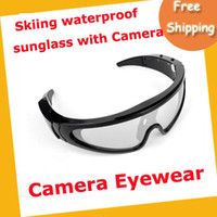 Wholesale New GB Sport Skiing waterproof sunglass HD Sunglasses Hidden Camera MOQ