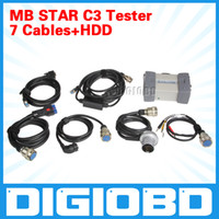 Wholesale Mb Star C3 Pro With Seven Cable Fit All Computer Hot Sale Diagnostic Scanner Newest Version