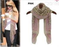 Wholesale fashion star style classic leopard print women s scarf silk scarf Never out of date cape scarf