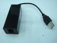 Wholesale 1pc FAX MODEM USB Powerline k external modems support win7