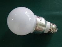 Wholesale 3W W led bulb Light Lamp E26 E27 Frosed or Clear PC Cover AC V DC V