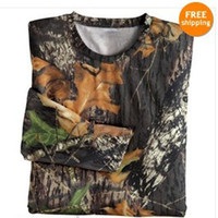 Wholesale BROWNING Men s All Seasons Gear Camo Moussy Oak Cotton T Shirt Hunting Wear Size XL XXL