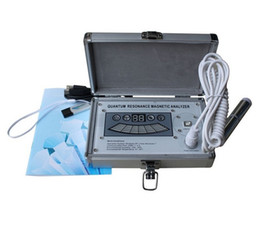 Wholesale Quantum Resonance Magnetic Analyzer New Products for Third Generation Reports With Comparative Analysis Report Function DHL Free