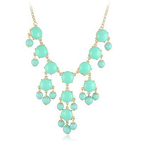 Wholesale bubble necklace fashion candy color necklaces Hotsale jewelry
