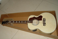 Wholesale best china guitar New Arrival Pete Townshend Natural acoustic electric Guitar OEM