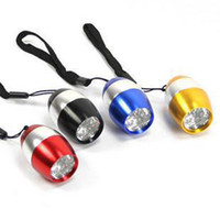 Wholesale New Mini LED Flash Light Torch Flashlight Emergency Keychain Emergency
