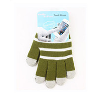 Wholesale Multi Points Capacitive Touch Screen Gloves Multi Touch Gloves for Your Iphone Ipads etc Hot Sale