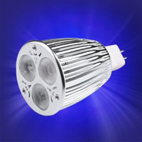 Wholesale MR16 LED light bulb Lamp dimmable x4W CREE LED Chip DC12V degree