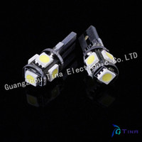 Wholesale NO OBC ERROR T10 Canbus W5W SMD LED Error Free White Light Bulbs
