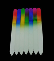 beautiful nail files - 5 quot Crystal Glass Nail Files New Manicure Multicolor Beautiful NF014