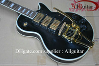 bigsby - Black beauty custom shop pickups with Bigsby Tremolo electric guitar made in China Guitar