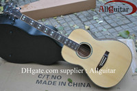 Wholesale acoustic guitar inch natural color Binding Body acoustic China Guitar