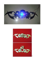 Wholesale Car Chrome Badge Emblem Skeleton Skull LED Light Eye
