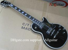 Wholesale Custom shop VOS black ebony fingerboard electric Guitar chrome hardware made in China Guitar