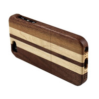 WOOD  wood - Real Natural Bamboo Wood Wooden Hard Case Cover For Apple iPhone G in retail package