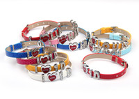 Wholesale 10pcs I Love D One Direction DIY Leather Bracelets bangle Fashion Wristbands Christmas