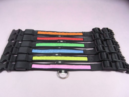 Wholesale LED flashing dog collar leashes LED pet collar necklace cat collar freeshipping