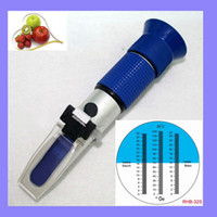 Wholesale Hand Held Wine Oe Beer Brewing Refractometer Blue Grip RHB sATC