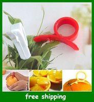 Silicone orange peeler - Popular oranges Barker Ring type the clever open orange peeling fruit Tools gifts fast