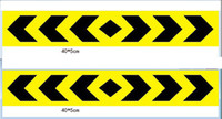 Wholesale 100PCS Reflective noctilucent Hazard Warning Tape cm cm Safety Tape