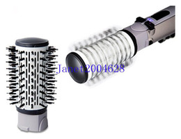 Wholesale hair styling brush comb in1 rotating brush hair combo hair styler air brush freeshipping