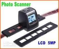 al por mayor slide and negative converter-5MP Digital Film Scanner convertidor / 35mm USB LCD Deslice la película escáner negativo fotográfico 2,36 TFT 1pcs/lot