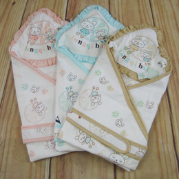 Wholesale Infant wrap cotton baby quilt blanket swaddling newborn swaddle blanket