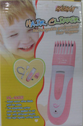 Wholesale Baby Hair Clipper Child Kids Trimmer Cut Child Kid Hair Cut clippers