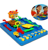Wholesale Adventure of bebe waterpark Puzzle maze Education and puzzle toys board Games