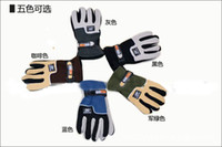 Wholesale Double fleeces gloves wind degrees warm gloves outdoor gloves Sports gloves